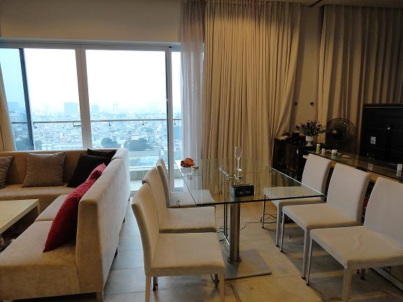 Luxury apartment for rent in Golden Westlake Hanoi, lake view
