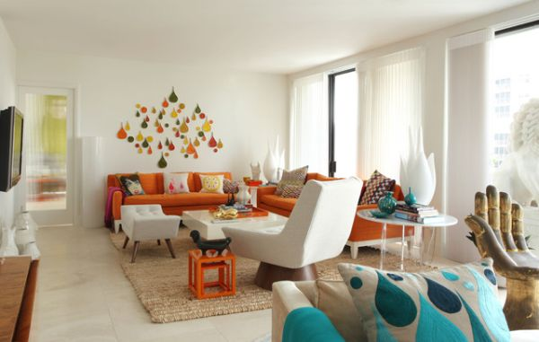 5 Ways To Help Create 70′s-Inspired Living Room