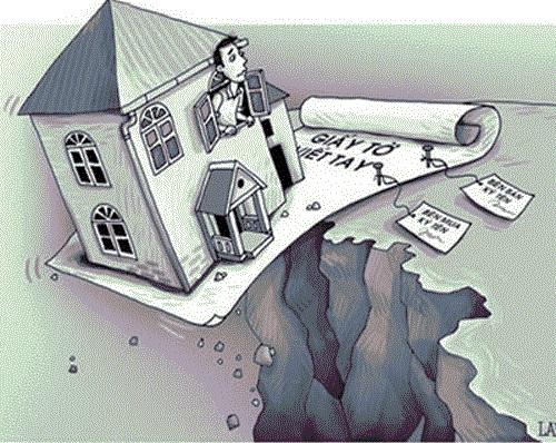 Hợp thức hóa nhà đất chỉ có giấy tờ tay