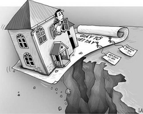 Rủi ro khi mua đất bằng giấy tay qua 2 đời chủ