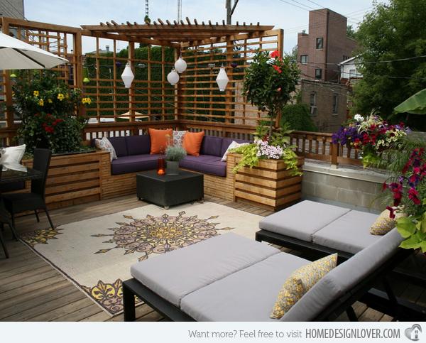 15 Beautiful Outdoor Living Room Designs
