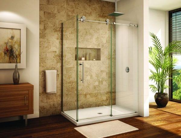 Bồn tắm đứng - phong cách hiện đại