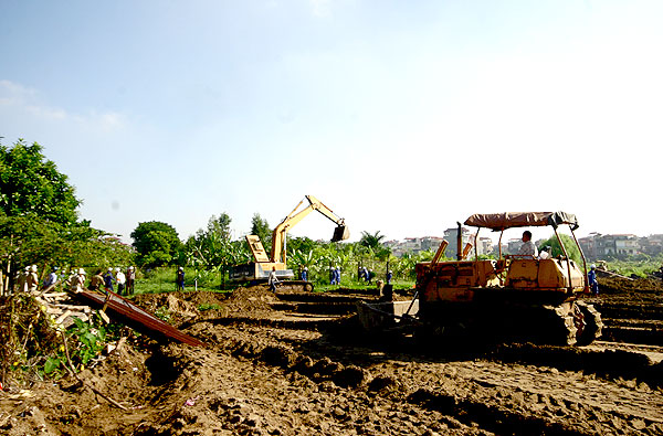 Hà Nội quy hoạch khu đô thị gần 50ha tại Hoàng Mai